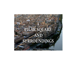 Plaza del Pilar in video per audioguida